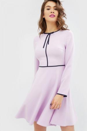 """Платье """"Ривос"""" лилового цвета"""