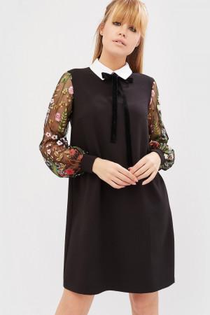 Сукня «Лінс» чорного кольору