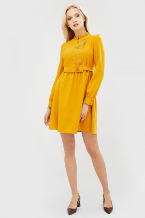 Платье «Нилан» желтого цвета