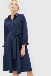 Платье «Авекко» синего цвета