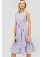 Платье «Нерис» лилового цвета