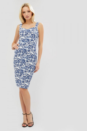 Платье «Одис» синего цвета