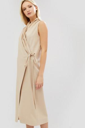 Платье «Долс» бежевого цвета