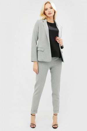 Пиджак «Кито» серого цвета