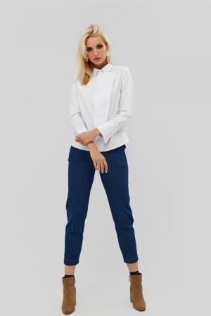Женская рубашка «Савона» белого цвета