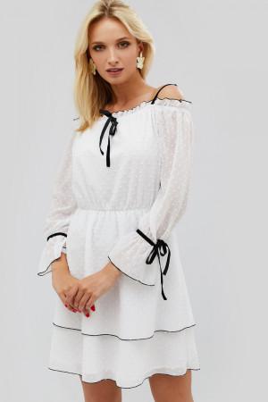 Платье «Бонси» белого цвета