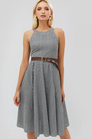 """Платье """"Йонс"""" черного цвета"""