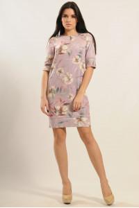 Платье «Маренго» лилового цвета