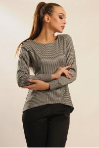 Блуза «Шарлен» світло-сірого кольору