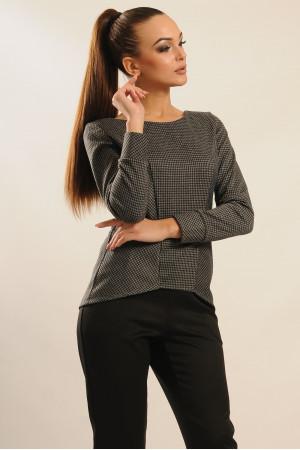 Блуза «Шарлен» темно-сірого кольору