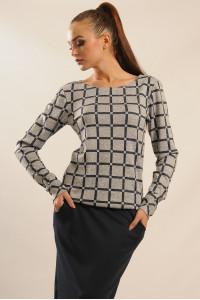 Блуза «Сіті-Зима» сірого кольору