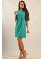 Платье «Горчица» зеленого цвета
