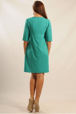 Сукня «Гірчиця» зеленого кольору