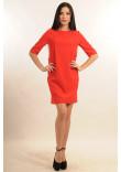 Сукня «Гірчиця» червоного кольору