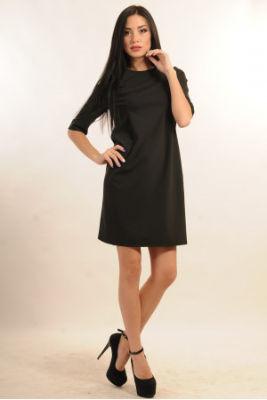 Сукня «Гірчиця» чорного кольору