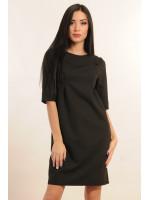 Платье «Горчица» черного цвета