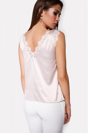 Блуза «Сейдо» цвета пудры
