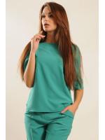 Блуза «Гірчиця» зеленого кольору