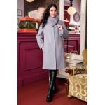 Зимове пальто «Місса» сірого кольору