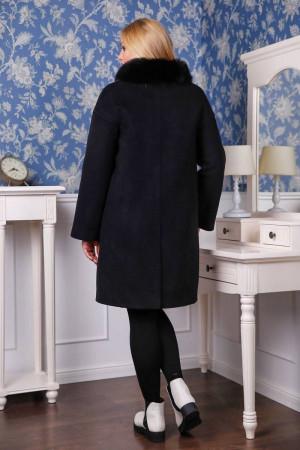 Зимове пальто «Місса» чорного кольору