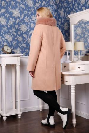 Зимове пальто «Місса» бежевого кольору