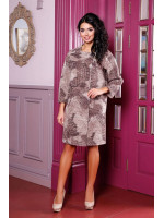 Жіноче пальто «Абель» бежевого кольору
