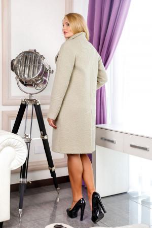 Жіноче пальто «Норд» оливкового кольору