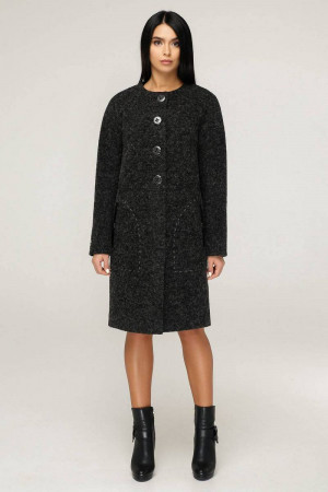 Женское пальто «Ариба» черного цвета