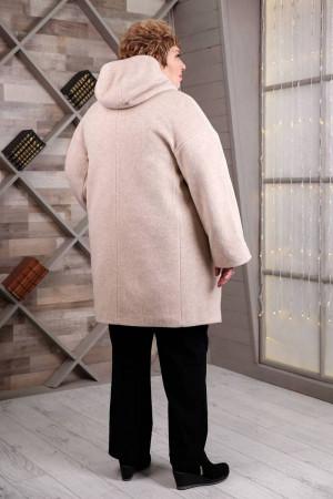 Жіноче пальто «Вільха» бежевого кольору
