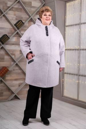 Жіноче пальто «Вільха» світло-бузкового кольору
