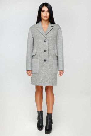 Женское пальто «Бриг» серого цвета