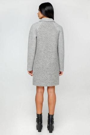 Жіноче пальто «Бриг» сірого кольору