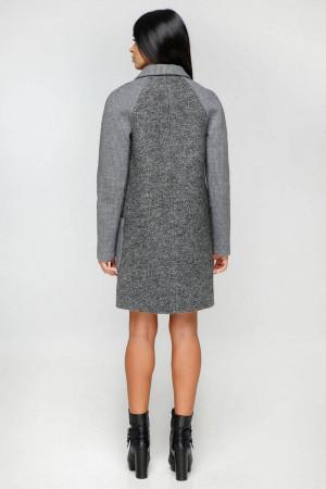 Жіноче пальто «Бриг» темно-сірого кольору