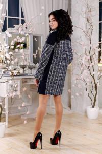 Женское пальто «Тианна» синего цвета