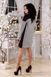 Женское пальто «Тианна» бежевого цвета