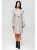 Жіноче пальто «Трито» світло-бежевого кольору