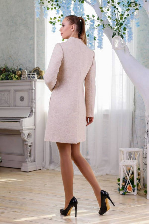 Жіноче пальто «Трито» бежевого кольору