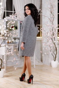 Женское пальто «Лиммер» серого цвета