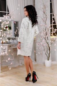 Жіноче пальто «Ліммер» білого кольору