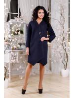 Женское пальто «Лиммер» синего цвета