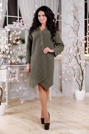 Жіноче пальто «Ліммер» зеленого кольору