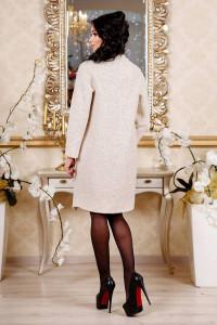 Женское пальто «Лиммер» бежевого цвета