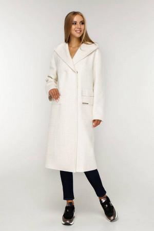 Жіноче пальто «Гарденія» світло-рожевого кольору