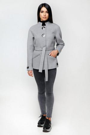 Жіноче пальто «Оліс» сірого кольору