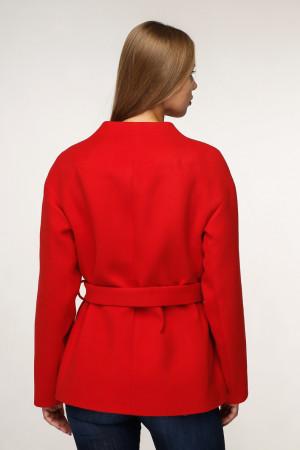 Жіноче пальто «Оліс» червоного кольору