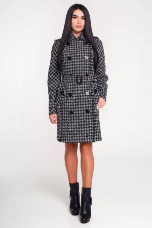 Жіноче пальто «Гарстон» чорного кольору