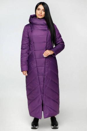 Пуховик «Корда» фіолетового кольору