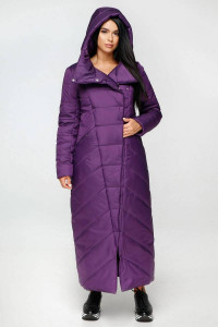 Пуховик «Корда» фиолетового цвета