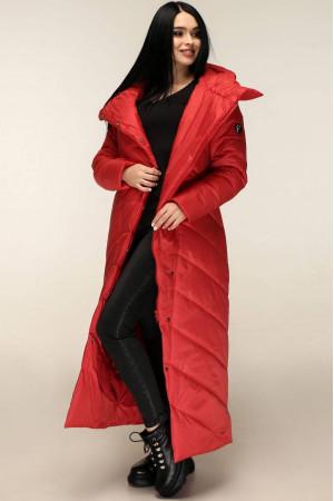 Пуховик «Корда» червоного кольору 56 розмір