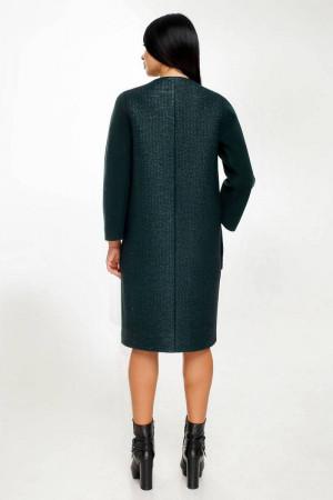 Жіноче пальто «Веріто» зеленого кольору